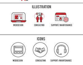 #5 for Create 3 icons & 3 illustrations for marketing agency by Graphicans