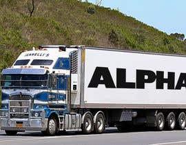 nº 12 pour Truck Logo par alexystovar