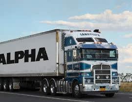 nº 9 pour Truck Logo par jaimeadrianne