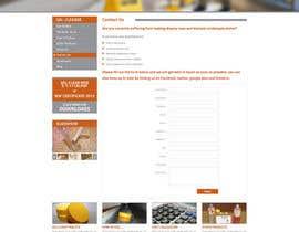 #11 untuk Design New Website - Design only oleh azzicreative