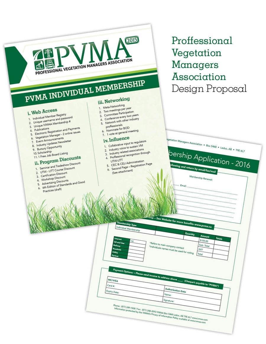 Inscrição nº                                         21                                      do Concurso para                                         Design a Brochure for PVMA