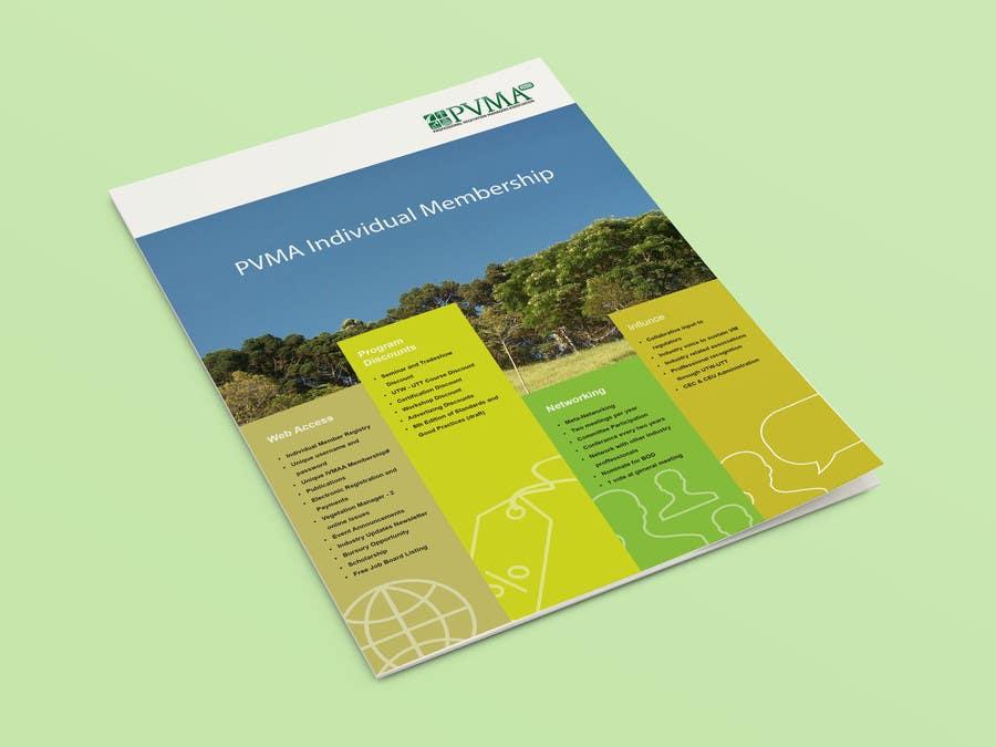 Inscrição nº                                         4                                      do Concurso para                                         Design a Brochure for PVMA