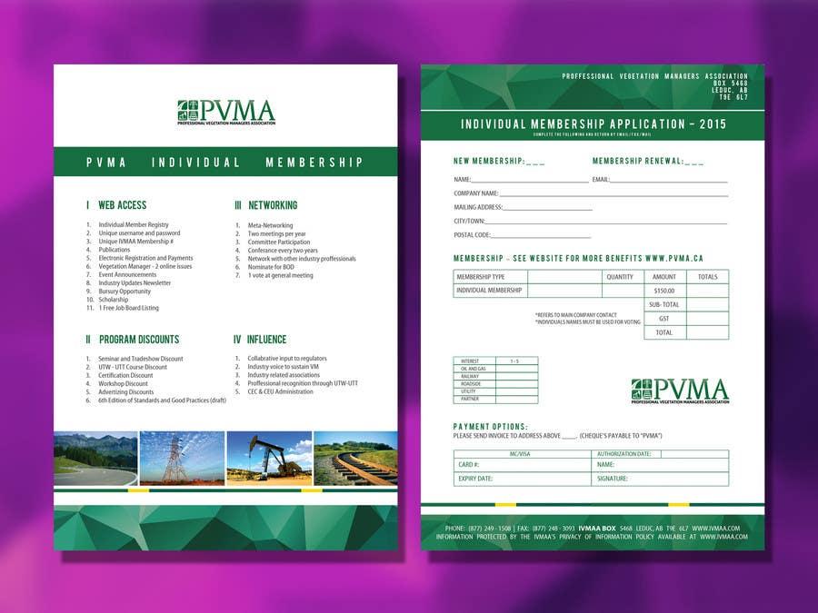 Inscrição nº                                         10                                      do Concurso para                                         Design a Brochure for PVMA