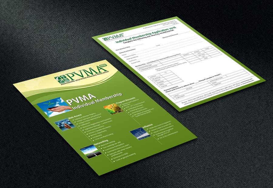 Inscrição nº                                         7                                      do Concurso para                                         Design a Brochure for PVMA