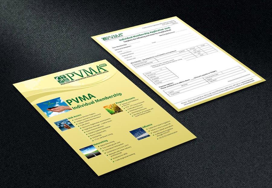 Inscrição nº                                         14                                      do Concurso para                                         Design a Brochure for PVMA