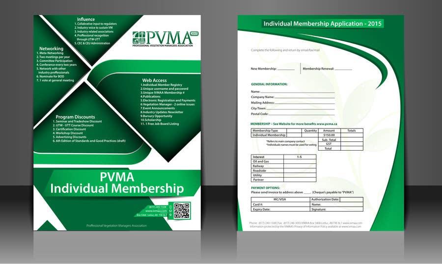 Inscrição nº                                         9                                      do Concurso para                                         Design a Brochure for PVMA
