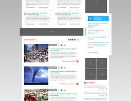 nº 33 pour Website Design for Disaster.Com par ANALYSTEYE