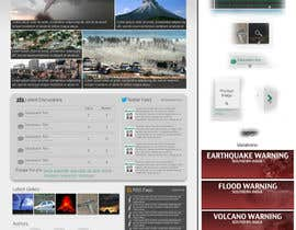 nº 39 pour Website Design for Disaster.Com par SmithWebDesign