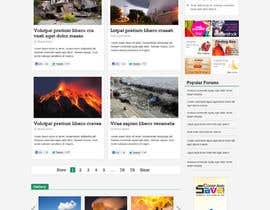 nº 7 pour Website Design for Disaster.Com par nhany