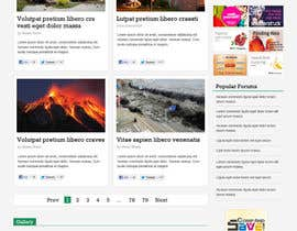 nº 8 pour Website Design for Disaster.Com par nhany