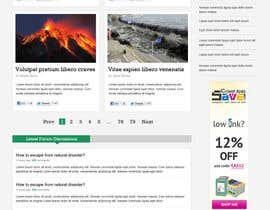 nº 25 pour Website Design for Disaster.Com par nhany