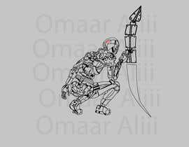 #9 для Robot tattoo project от Omaaraliii