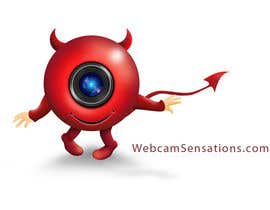 #168 para Logo Design for Webcam Sensations por AnaCZ