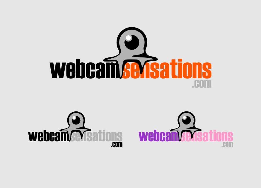 Inscrição nº                                         307                                      do Concurso para                                         Logo Design for Webcam Sensations