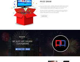 Nro 17 kilpailuun Design a landing page for our competition käyttäjältä yasirmehmood490
