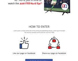 Nro 8 kilpailuun Design a landing page for our competition käyttäjältä creative423