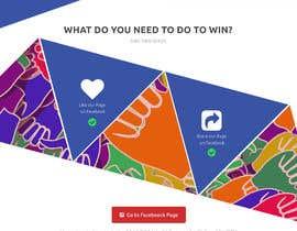 Nro 18 kilpailuun Design a landing page for our competition käyttäjältä lewpromax