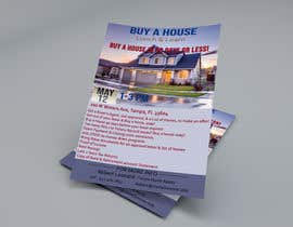 #3 per Flyer for Buy a house quick & easy seminar da Anojka