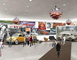 SDBcIndia tarafından Illustrate an interior with visitors and attractions for a modern VW Beetle museum için no 39