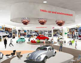 SDBcIndia tarafından Illustrate an interior with visitors and attractions for a modern VW Beetle museum için no 41