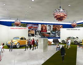 SDBcIndia tarafından Illustrate an interior with visitors and attractions for a modern VW Beetle museum için no 45