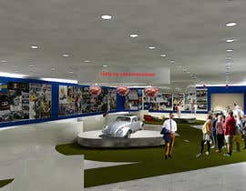 SDBcIndia tarafından Illustrate an interior with visitors and attractions for a modern VW Beetle museum için no 48