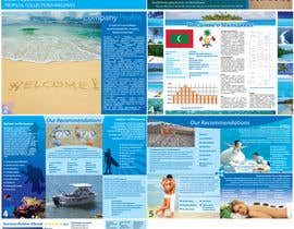ManuelSabatino tarafından Brochure Design for Tropical Collections Maldives Pvt Ltd. için no 1