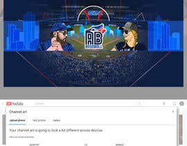#28 , Blue Jays Baseball Fan Youtube Channel Banner and +Logo 来自 gilart