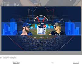 #34 , Blue Jays Baseball Fan Youtube Channel Banner and +Logo 来自 gilart
