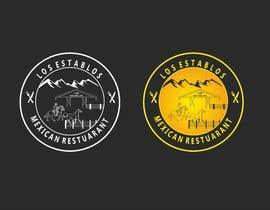 Nro 77 kilpailuun Logo Design - Los Establos Mexican Restaurant käyttäjältä narvekarnetra02