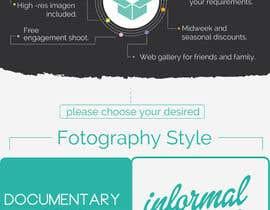 #17 untuk Wedding Photography Infographic oleh olatzgiorgia