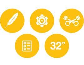 #9 cho Design some Icons for motorsports company site bởi Slkline
