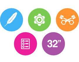 #11 cho Design some Icons for motorsports company site bởi Slkline