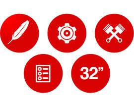 #14 cho Design some Icons for motorsports company site bởi Slkline