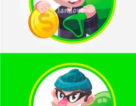 #44 for Coin Bandits Mascot by Landovz