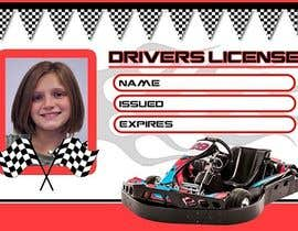 #20 para Children's Drivers licence por d3stin