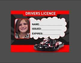 #7 para Children's Drivers licence por ConceptGRAPHIC