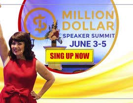 Aveldeth tarafından Facebook Ad for Million Dollar Speaker Summit için no 16