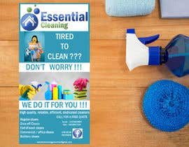 #36 for DL size flyer for home cleaning business by jazg91