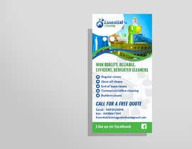 #23 for DL size flyer for home cleaning business by TohaAshrak