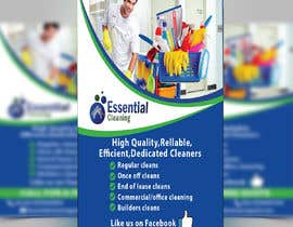 #35 for DL size flyer for home cleaning business by DesignQueen50