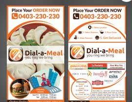 #22 para Dial a meal Flyers por ReallyCreative