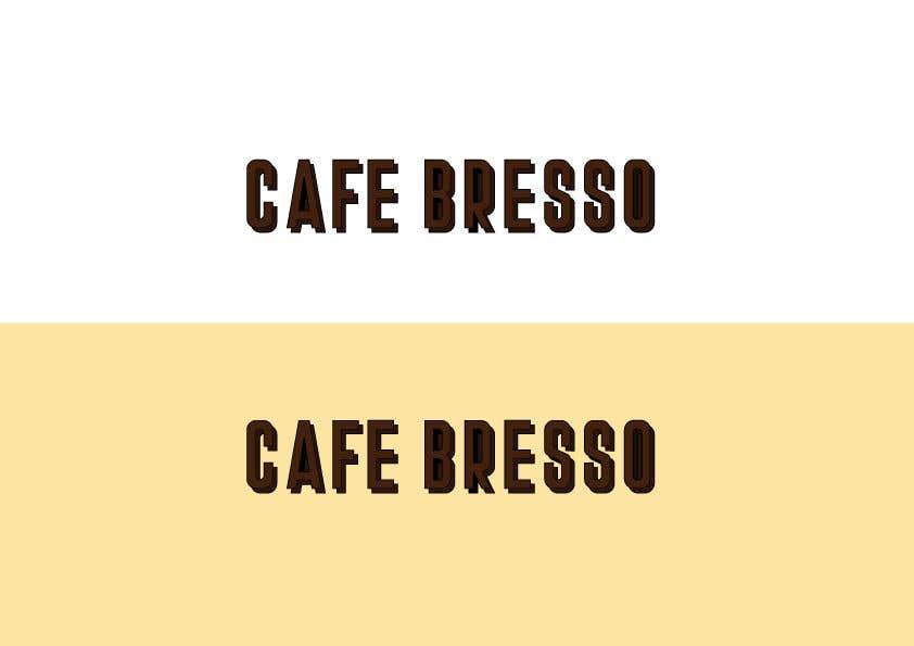 Konkurrenceindlæg #38 for Logo Design for a Cafe