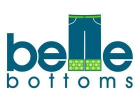 janinie tarafından Logo Design for belle bottoms iron-on pant cuffs için no 273