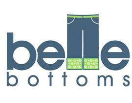 janinie tarafından Logo Design for belle bottoms iron-on pant cuffs için no 275