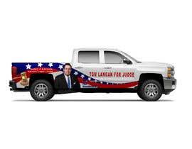 Nro 6 kilpailuun Partial patriotic truck Wrap käyttäjältä TheFaisal