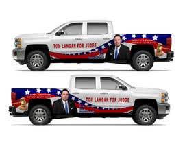 Nro 8 kilpailuun Partial patriotic truck Wrap käyttäjältä TheFaisal