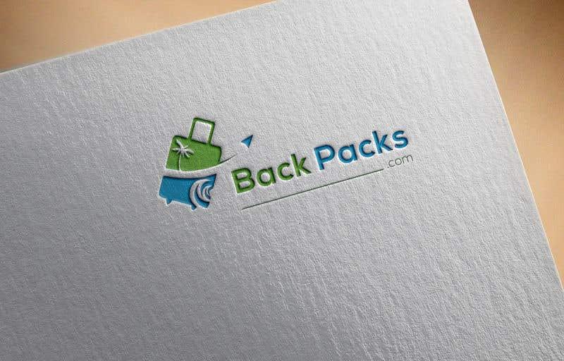 Contest Entry #46 for Make a logo for Backpacks.com