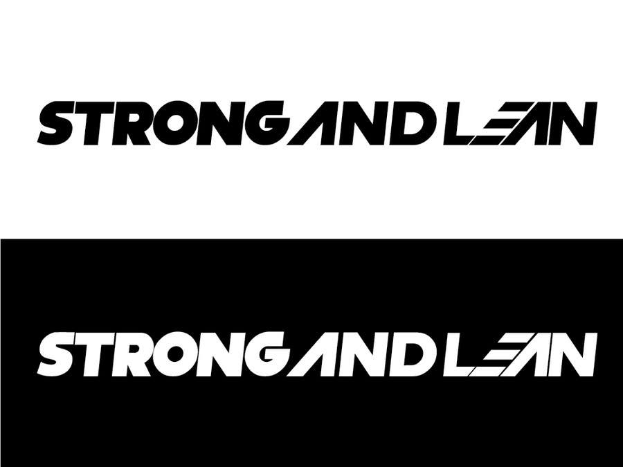 Proposition n°110 du concours Logo Design for Strong and Lean