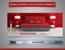 Nro 15 kilpailuun Design 2 Banners for sliders on website käyttäjältä amirkust2005
